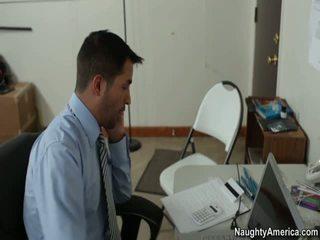 sex birou, gratuit fată roșu porno