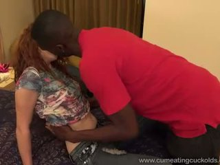 Alice Green is Creampied By a Black Cock and Hubby