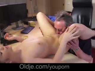 My Young Girlfriend Cought Her Old Stepdaddy Is A Pornstar