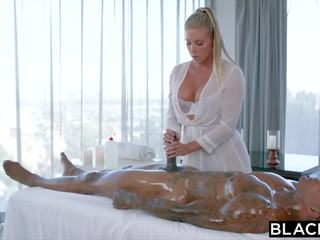 Blacked samantha saint cant 저항 bbc 과 rimming: 포르노를 1a