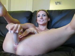 Blonde Webcam Goddess 21 - Squirting in a Bowl: HD Porn 08