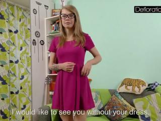 Casting of Tight Gwyneth, Free Defloration Channel HD Porn