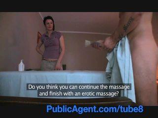 Publicagent knulling den masseur milf