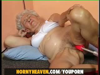 granny, european, mature