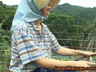 Chisato shouda á châu trưởng thành gà con gets