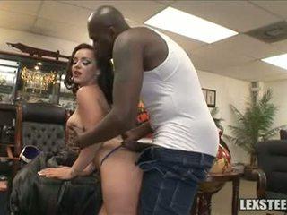 Lex steele và liza del sierra sưa sacks chơi trong các văn phòng