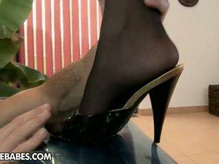 hardcore sex, voet fetish, lingerie
