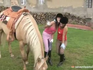 Fuckfest bij de stables
