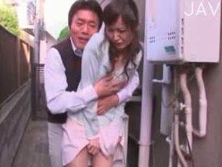 japonec, sólo, masturbace