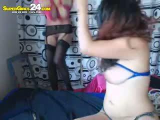 brunette, webcam, masturbation