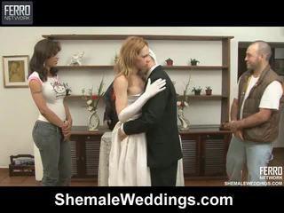 Mescolare di filmati da shemale weddings