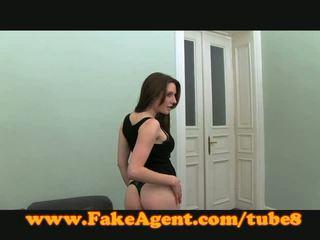 Fakeagent sexy španělština amatér fucks v odlitek