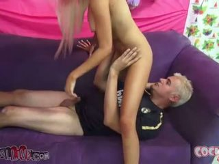 3 sluts with cocks down their throats