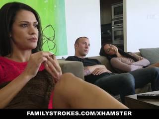 Familystrokes - fucked jo tim bro në film natë: porno c0