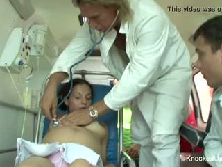 Two grūtniece babes uz an orgija