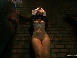 Corporal punishment إلى sinful راهبة angell summers