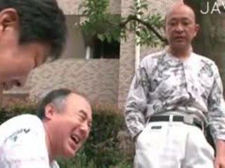 japanilainen, vanha + young, pikkuhousut