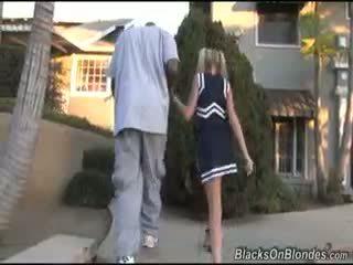interracial, blondýnka, hardcore