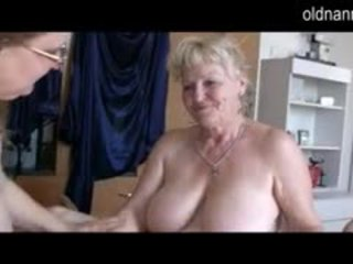 Old Granny And BBW Granny Have Fun Wit...