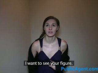 Publicagent 枯瘦 褐发女郎 pounded 由 一 大 捷克语 公鸡 - 色情 视频 741