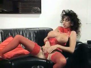 Sarah jong getting af met een vibrator