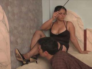 Pussy Licking Slave: Mistress HD Porn Video 01