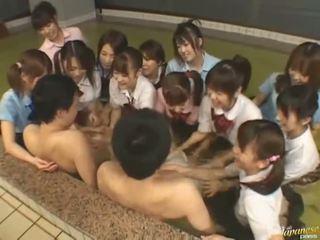 japansk, bizzare, asiatiska tjejer