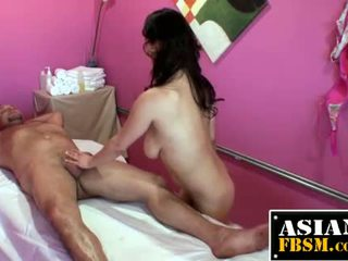 Asian Masseuse Sucks Cock For Cash