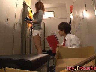 Kaori seksowne japońskie nauczycielka getting