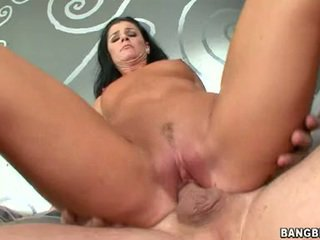 Shagging sensuous דבש india summers sits שלה taut ורוד coochie onto a throbbing pole