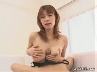 muie, handjob frumos, vedea asiatic distracție