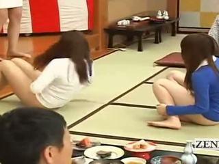 Subtitled bottomless जपानीस embarrassing समूह गेम