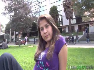 Oyeloca Busty Hot Latina Yulissa Camacho First Ever Tim